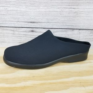 Stonefly Slip on Mules Loafers Comfort Shoes Black